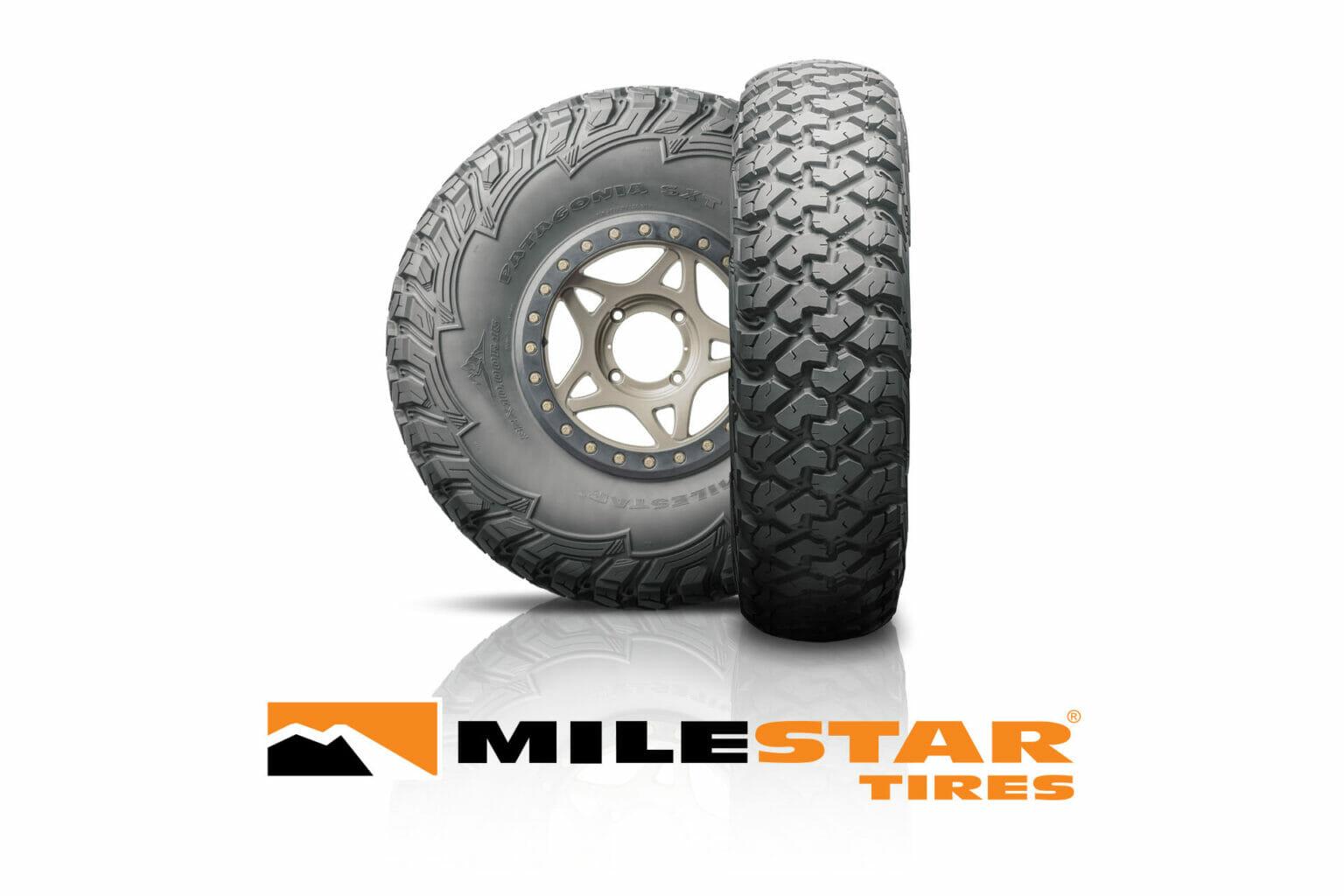 milestar patagonia sxt utv side-by-side tire
